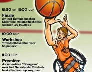 Poster RolstoelBasketbal, Photoshop-illustrator