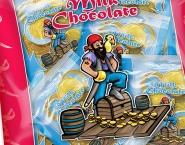 Verpakking chocolade, Illustrator